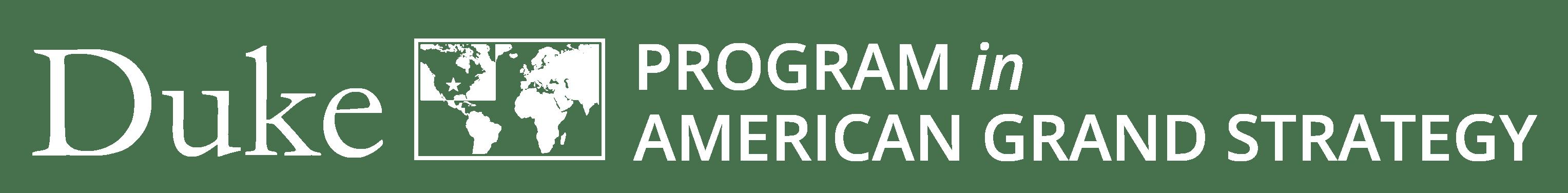 American Grand Strategy